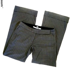 Old Navy Gray Pinstripe Trousers 10